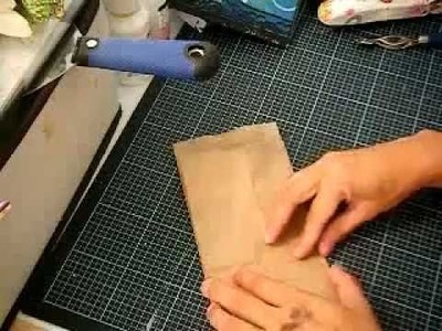 Cascading paper bag album tutorial