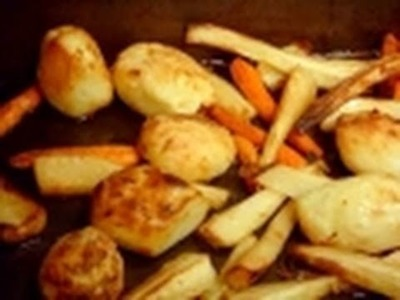 Christmas Roast Potatoes How to make recipe