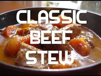 Classic Beef Stew Recipe - Casserole Hot Pot
