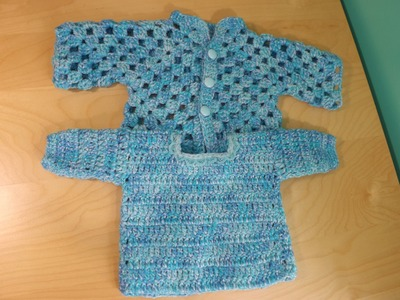 Cochet Baby Sweater Part 2.