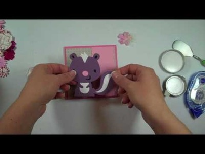 Cricut Episode 208 - Stinkin' Cute (Create a Critter)