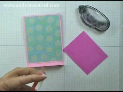 Friday Fun Folds: Matchbook Gift Card Holder