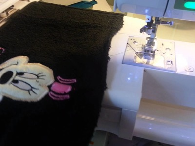 Girl Mouse hooded towel tutorial part 2