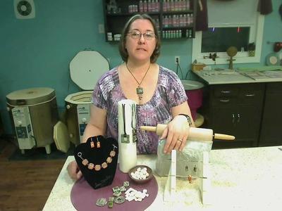 "Handbuilt Clay Jewelry with Amy Zander  ""Live"" webinar April 28 @ 8:00pm EST"