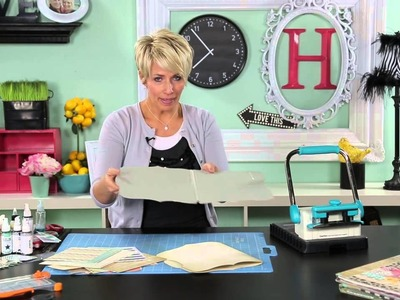 Heidi Swapp- Create to Remember:  Covered Binding Technique