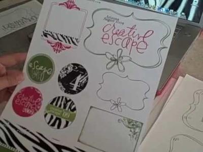 House of 3 Creative Escape elemets kit