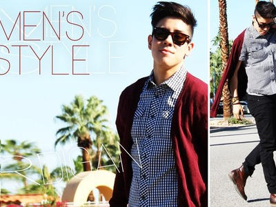 HOW I STYLE: MEN'S CARDIGANS (2 WAYS) ◗ OUTFITS | JAIRWOO