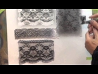 How To Airbrush - Airbrush Beginner Tip - Creating Pattern Backgrounds