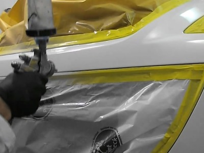 How to Blend Clear Coat (Base. Clear) - Spot Repair