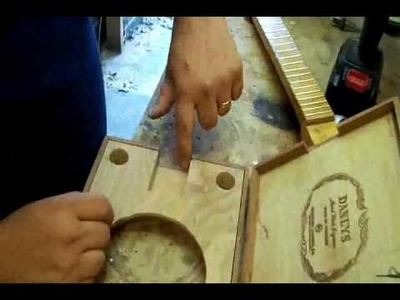 How to build a cigar box resonator guitar by Back Porch Mojo