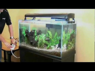 How to Clean Your Aquarium with the Aqueon Siphon Vacuum (Petco)