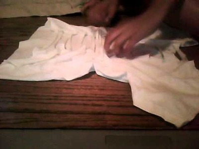 How to cut and weave a t-shirt