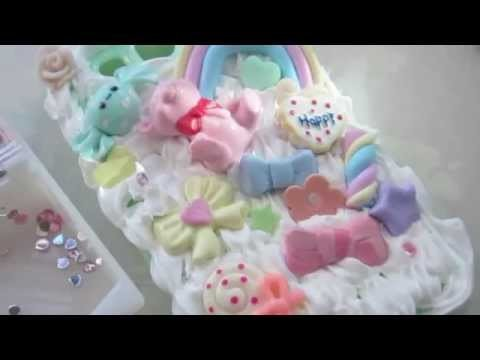 ♡♥ How to decoden on a silicone case ♥♡