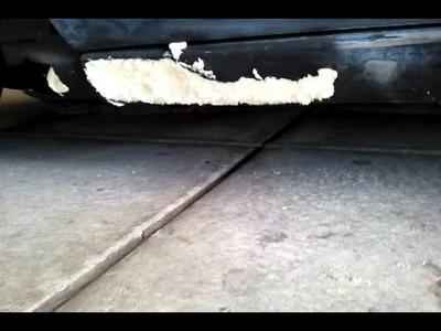 How to fix rocker panel rust