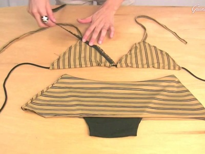 How to Make A Basic Triangle Top with skirted bottom
