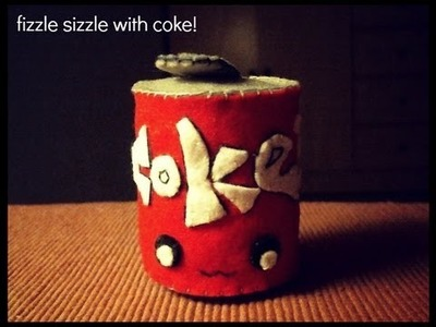How To Make A Can of Coke Plushie Tutorial
