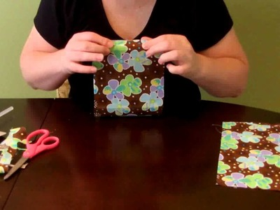 How to make a covered. custom Travel Wipe Case