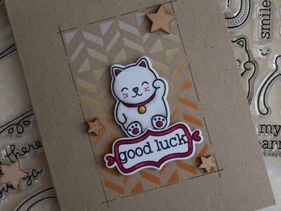 How to make a good luck card