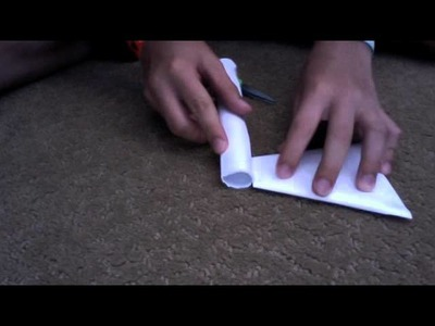 How to make a paper tomahawk