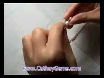 How to Make a Pearl Bracelet with Loose Pearls