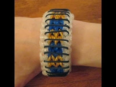 How to Make a Sailor's Pinstripe Bracelet (by Justin's Toys) with Just Two Forks