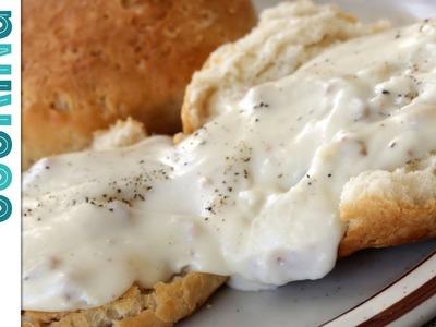 How To Make Cream Gravy - Sausage Gravy or Country Gravy Recipe