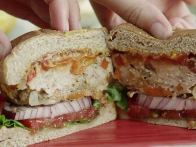 How to Make Grilled Chicken Burgers