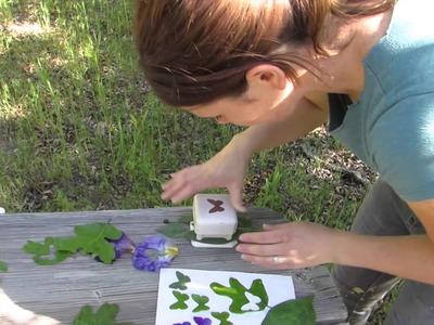 How to make leaf.petal cutouts