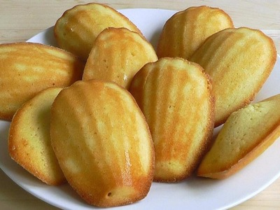 How to make Madeleines French cakes recipe Lemon Cake