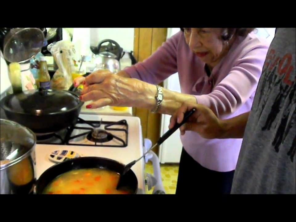 How to Make Spanish Rice, featuring Grandma!