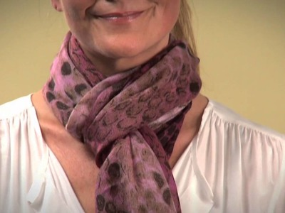 How to Tie a Scarf in 3 Easy Ways by Mary Portas