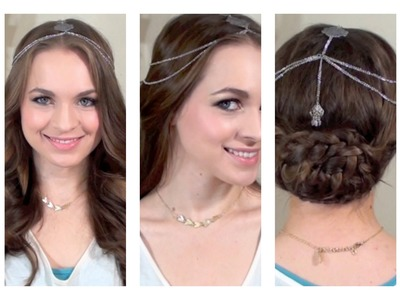 How to Wear Hair Jewelry {Collab with Anneorshine}