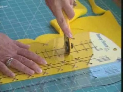 June Tailor® Fancy Fleece™ Ruler Demonstration Video