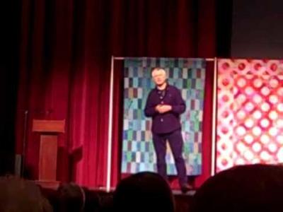 Kaffe Fassett's Talk at the AQS Quilt Show in Paducah 2010