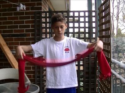 Magic Trick with scarf! Dimi K