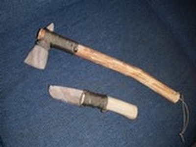 Making A Stone Bladed Tomahawk