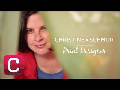 Meet Christine Schmidt of Yellow Owl Workshop I Creativebug