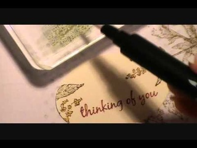"Nature Walk ""Thinking of You"" Card"