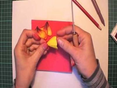 Paper Hibiscus flowers part 1