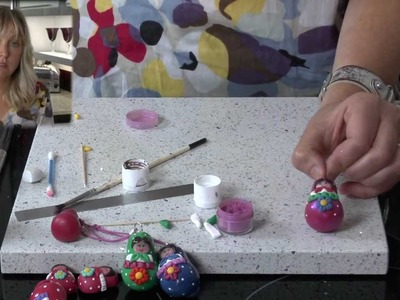 Polymer Clay Tutorial - How to make a Russian Doll