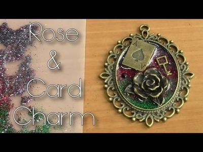 Rose & Card Charm Tutorial