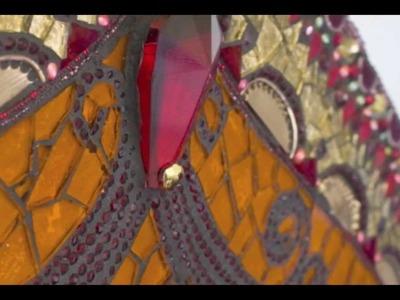 Sharra Frank's Online Mosaic Class { Mosaic Window Hangings & Mirrors }