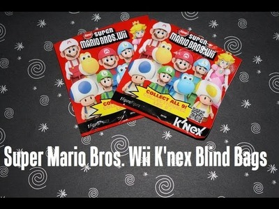 Super Mario Bros. Wii K'Nex Blind Bags - Opening