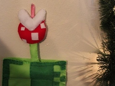 Super Mario Christmas Stocking - DIY GEEKY GOODIES
