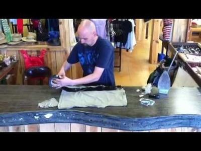 (T shirt bag)How to make and design T-Shirt Bag