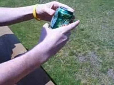 The Soda Can Trick - (The How To Do It)