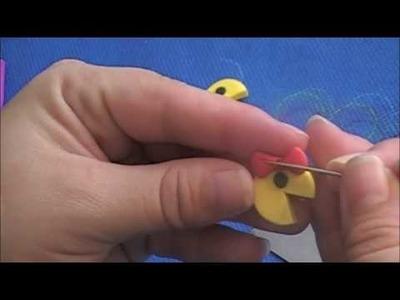 Tutorial #2: polymer pacman charm bracelet