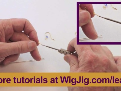 Using a Cup Bur Tool -- A WigJig Jewelry Making Instructional Video