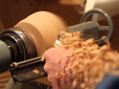 Wood Turning Natural Edge Bowl