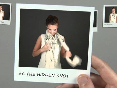 10 ways to wear your scarf